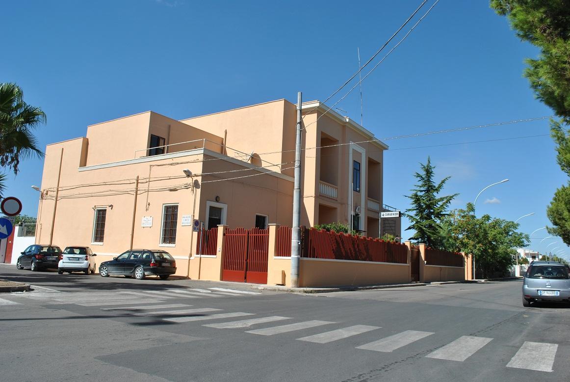 la Stazione Carabinieri di Torre Santa Susanna