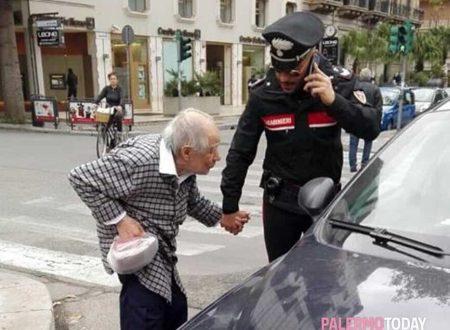 Nonno, ti sei perso? Arrivano i Carabinieri